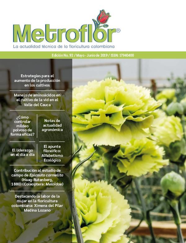 Edición 92 Metroflor MetroFlor_92WEB