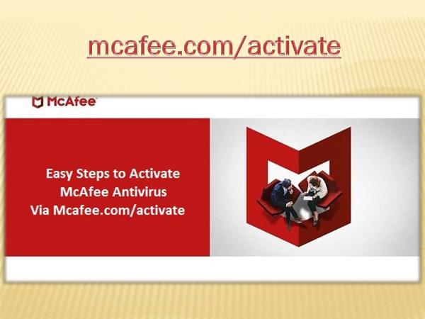 McAfee Activate Support | McAfee com Activate
