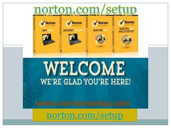 norton.com/setup - Download, Install, And Activate