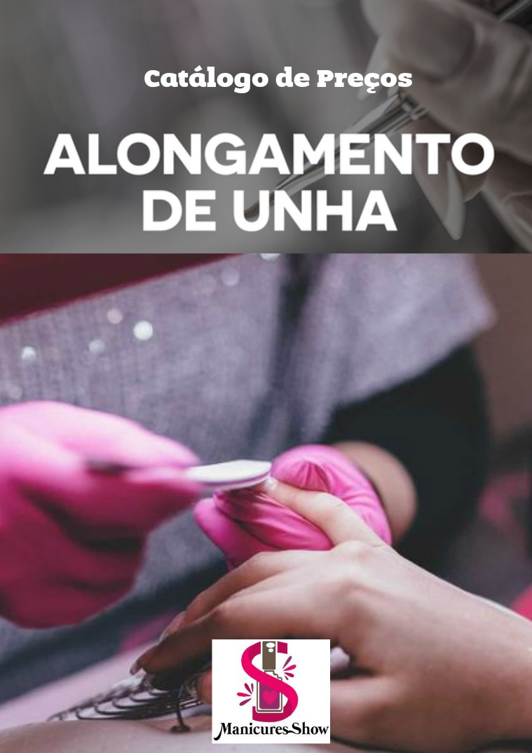Catalogo de produtos para alongamento de unhas Catalogo manicures show