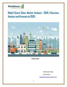Global Smart Cities Market Analyzed by Business Growth 2019
