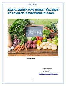 Global Organic Food Market Will Grow at a CAGR of 15.5% to 2025