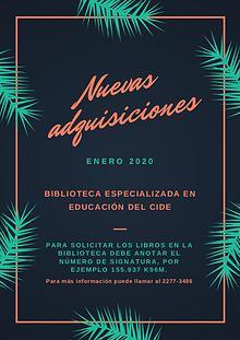 Boletín 01-2020
