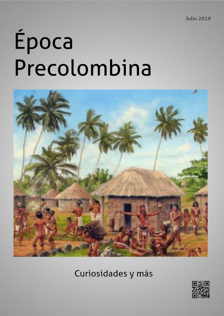 Mi primera publicacion EPOCA PRECOLOMBINA