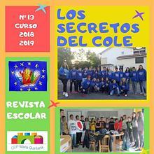 """REVISTA ESCOLAR """"Los Secretos del Cole 2018-2019l"""""""
