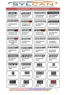 Catálogo de Acessórios e de Emblemas