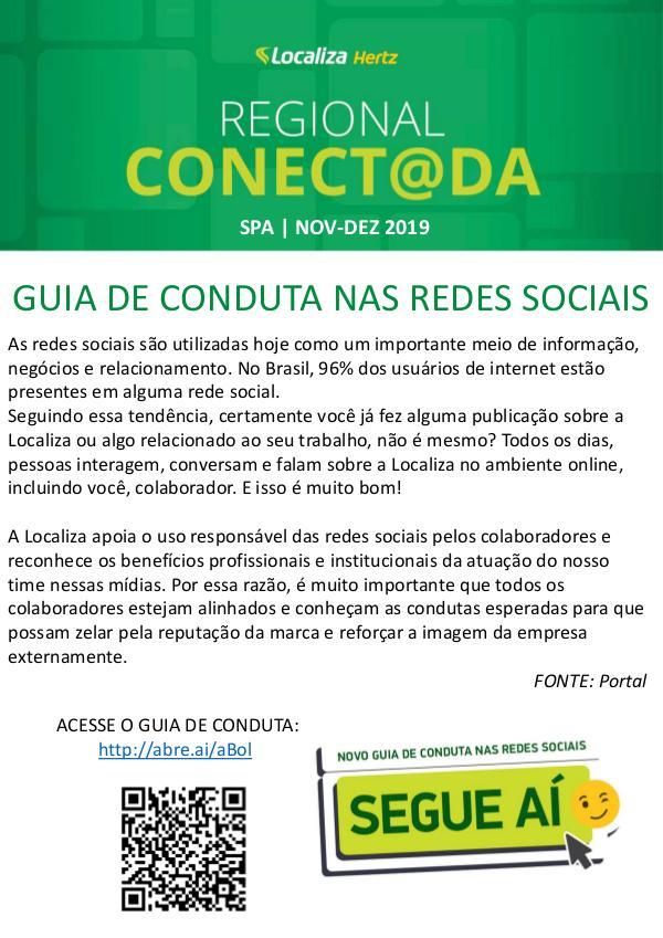 REVISTA REGIONAL CONECT@DA | SPA - Dezembro 2019 REVISTA REGIONAL CONECT@DA | SPA - Dezembro 2019