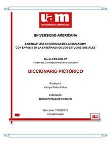 Diccionario Pictórico Tendencias Contemporáneas de la Educación UAM