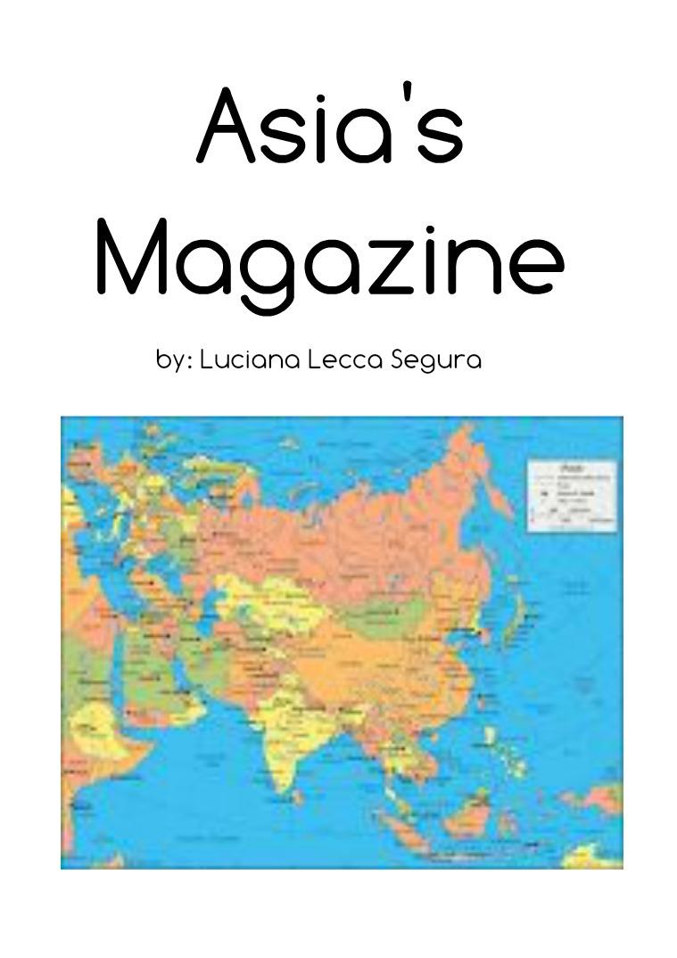 asia's magazine Magazine
