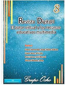 """Revista Digital -""""El autor virtual y los recursos educativos¨"""