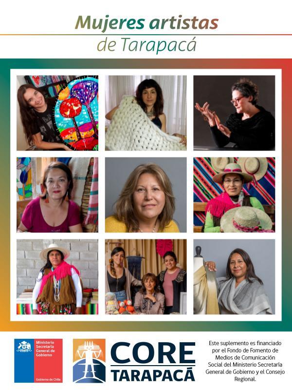 Mujeres artistas de Tarapacá Septiembre 2020