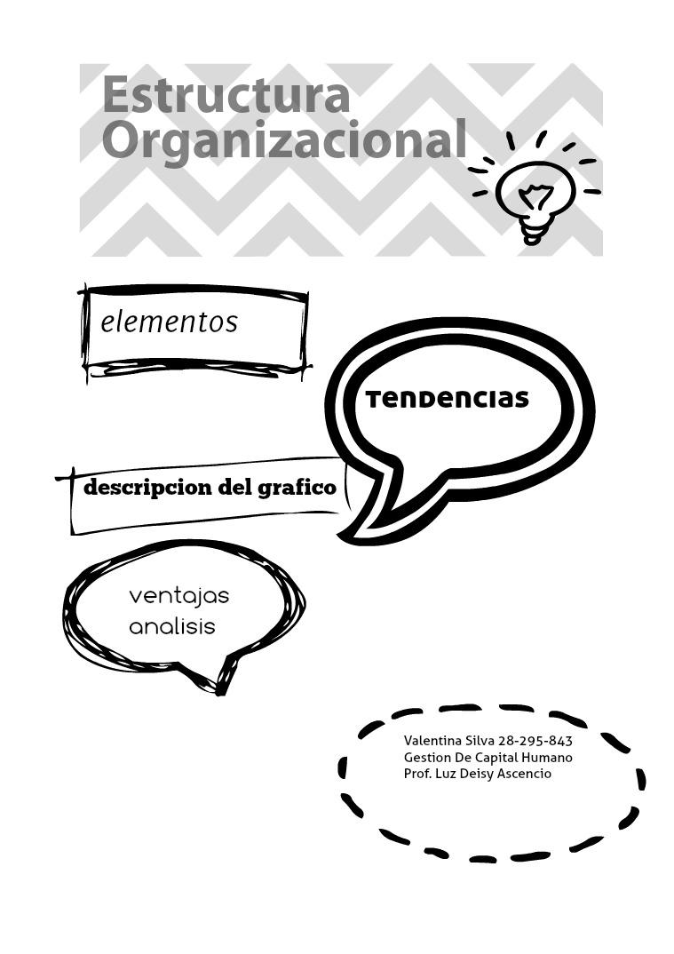 estructura organizacional gestion de capital humano