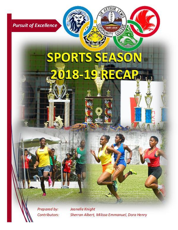 SALCC Sports SALCC Sports Recap 2018-19
