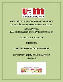 Diccionario Pictórico (Taller de Investigación y Producción Est. Soc