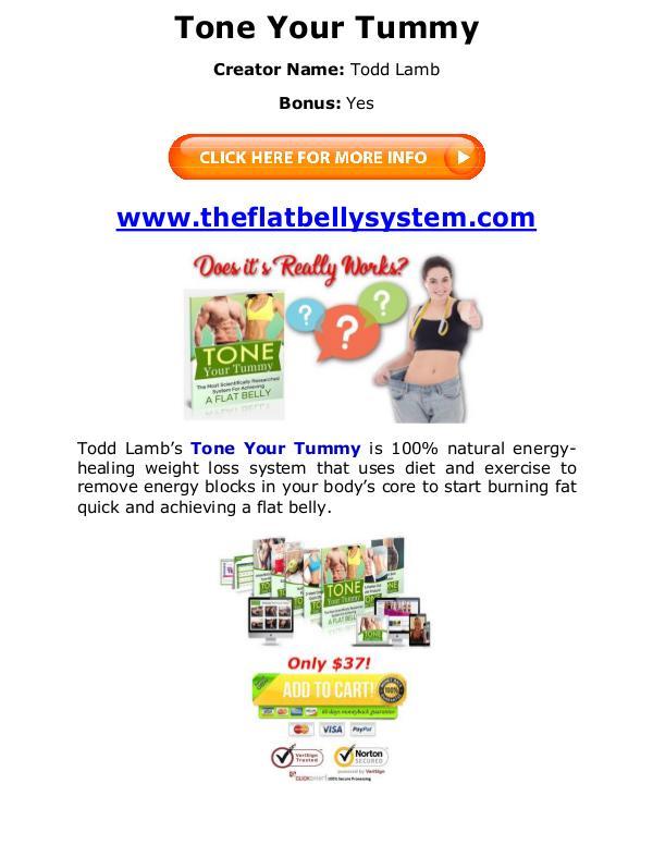 (PDF) Tone Your Tummy PDF Free Download: Todd Lamb Todd Lamb eBook