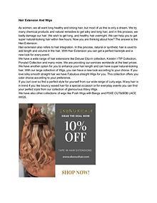 Best Site to Buy Hair Extensions- Ekonuxhair.com