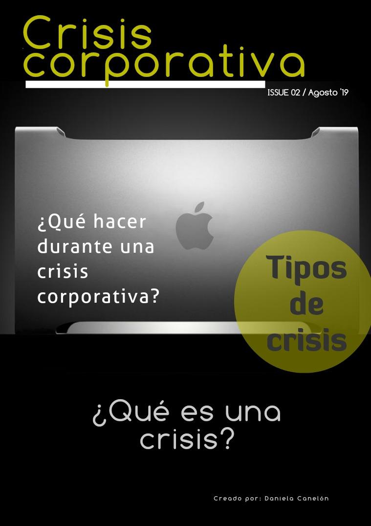 Crisis corporativa Crisis corporativa