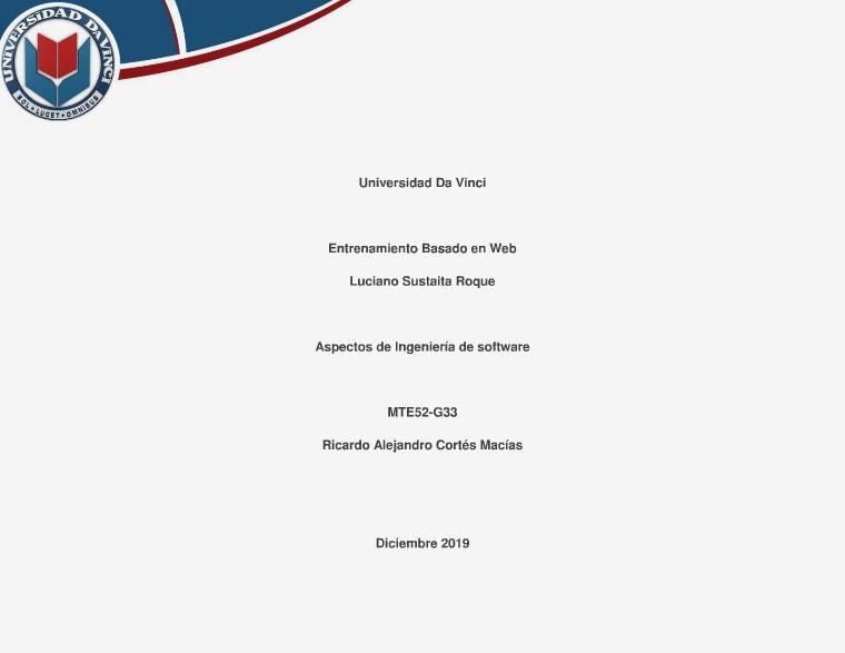 Ingeniería de Software Vol. 1