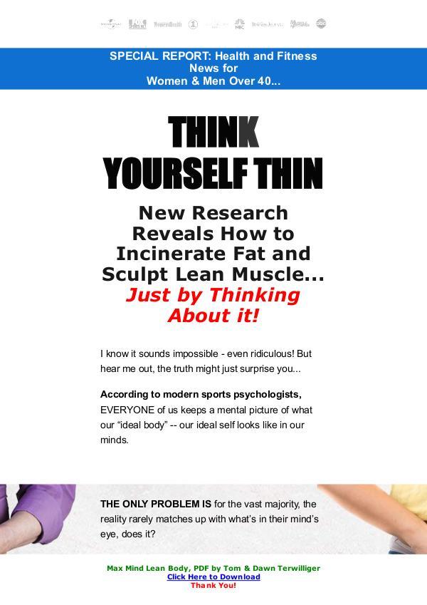 Max Mind Lean Body PDF FREE DOWNLOAD