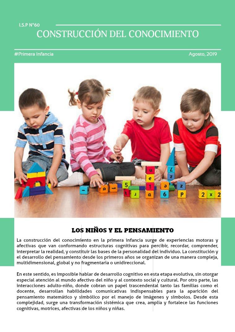 Desarrollo del niño Desarrollo del conocimiento