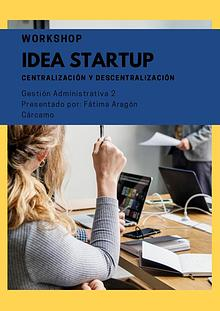 Workshop y startup