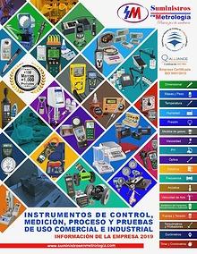 Catalogo Suministros en Metrologia 2019