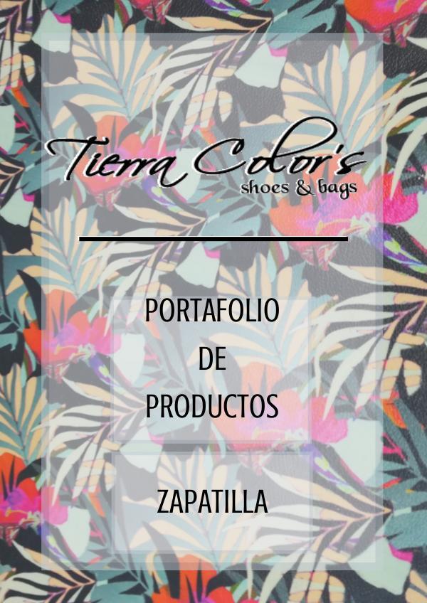 catalogo tierra colors PORTAFOLIO TIERRA COLORS ZAPATILLA