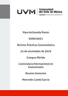 Lima: Capital Gastronómica de América Latina