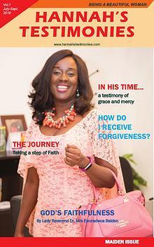 Hannah's Testimony Magazine