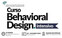 Brochure Behavioral Design CDMX 2019