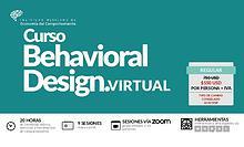Brochure Behavioral Design Virtual mayo 2020