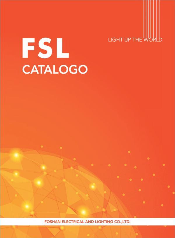 Catálogo de iluminación FSL Catalogo 2019
