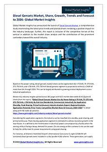 Diesel Gensets Market Analysis, Revenue, Price, Market Share, Growth