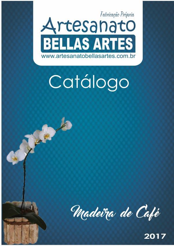 Catálogo Peças de Madeira de Café! - Artesanato Bellas Artes
