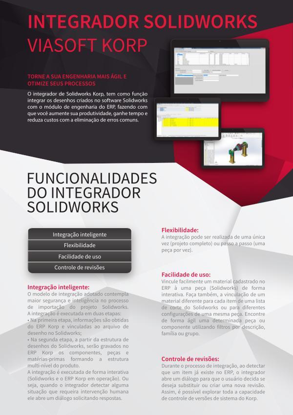 Integração com Solidworks INTEGRADOR FIM