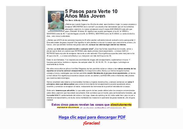 Rejuvenece tu cuerpo PDF Free Download