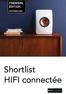 Shortlist Connectée - HIFI Nancy