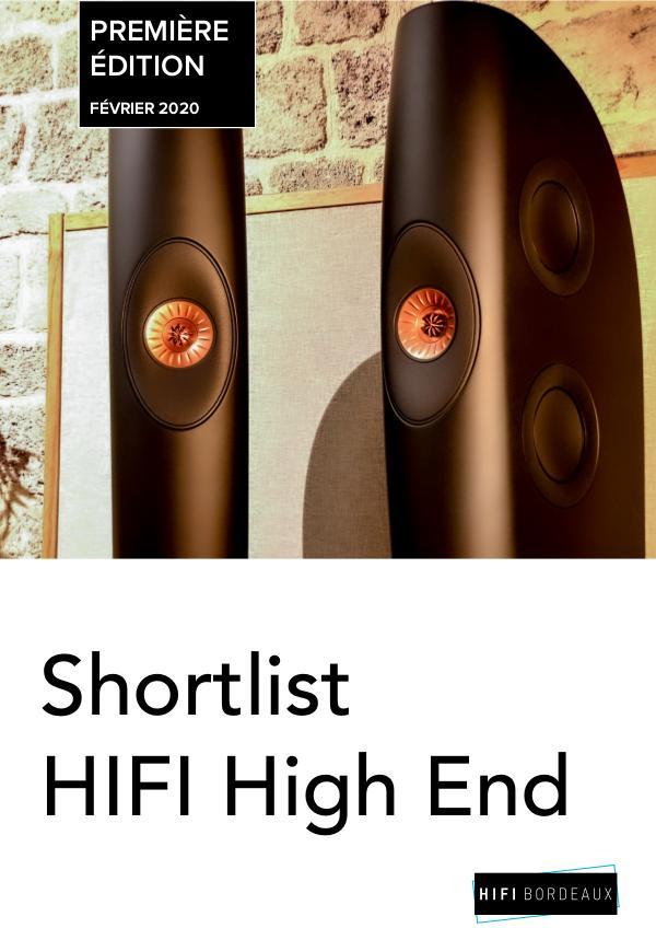Shortlist High End - Bordeaux
