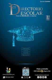 Escuelas - 1er Directorio Escolar Edición 21 - #Escuelas #Educación
