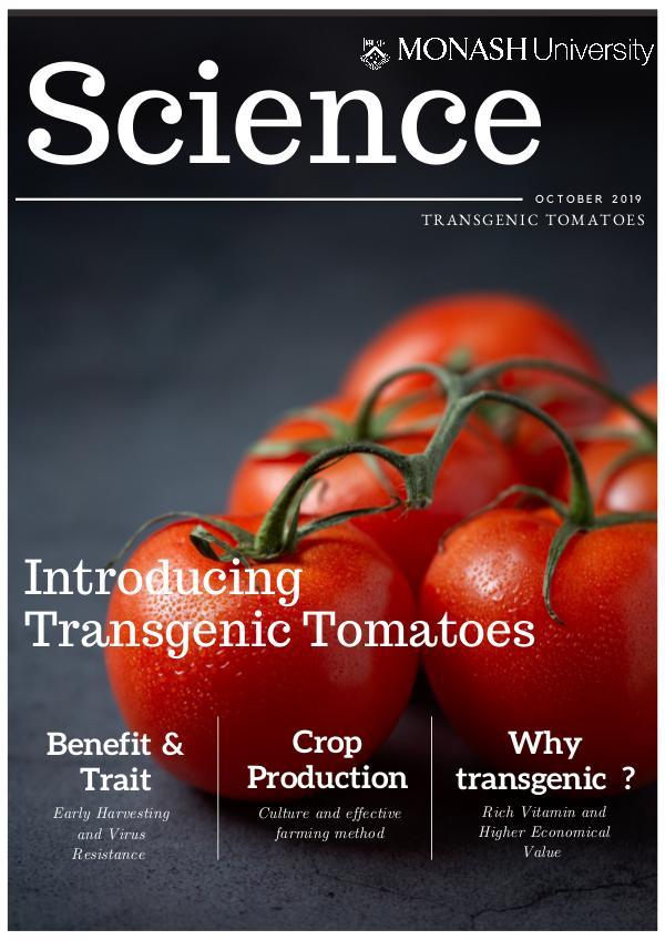 BTH 3820 Plant Biotechnology BTH 3820 Plant Biotechnology E-Portfolio
