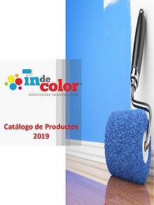 Catálogo de Pinturas Indecolor