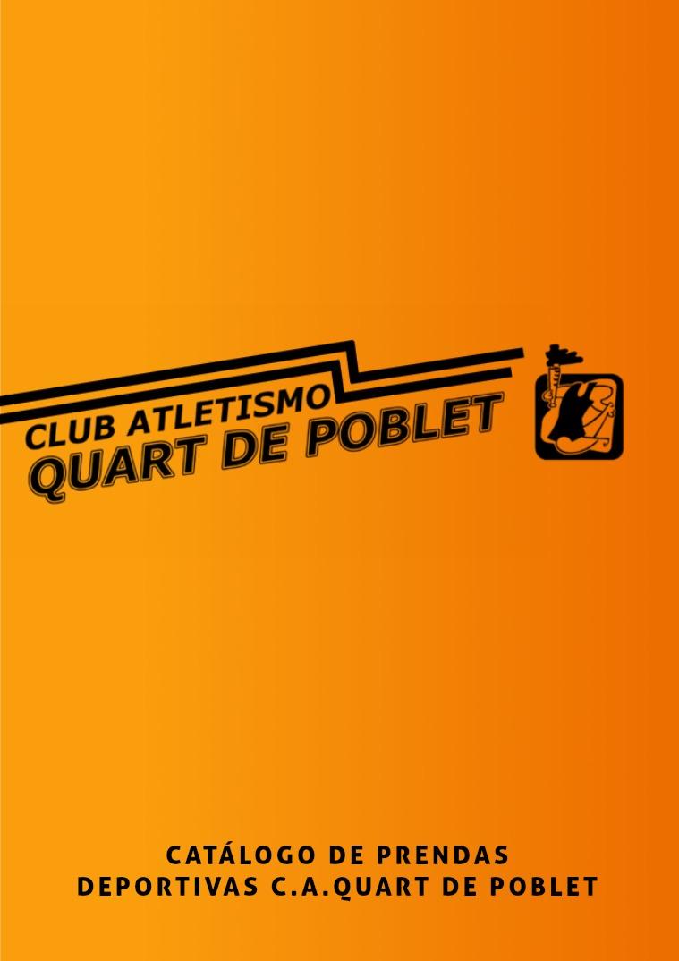 Catálogo de prendas deportivas C.A.Quart de Poblet Prendas deportivas C.A. Quart de Poblet