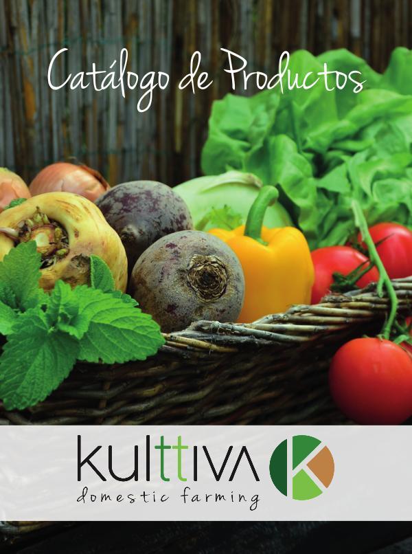 Catálogo de Productos Kulttiva Catálogo Kulttiva