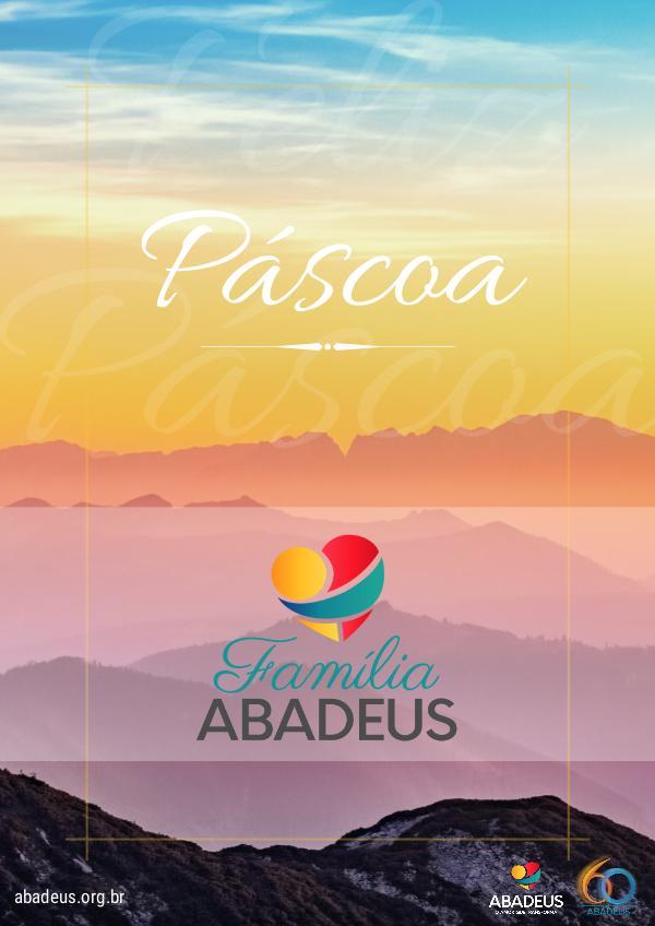 Feliz Páscoa - ABADEUS REVISTA DE PÁSCOA
