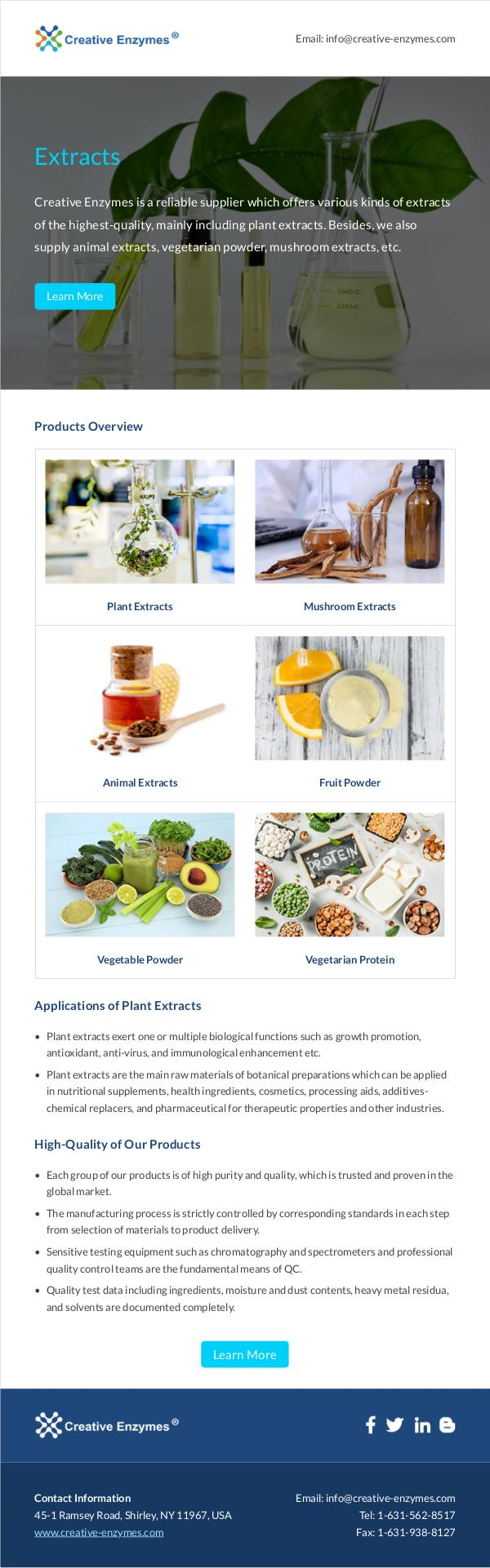 Creative Enzymes product Extracts