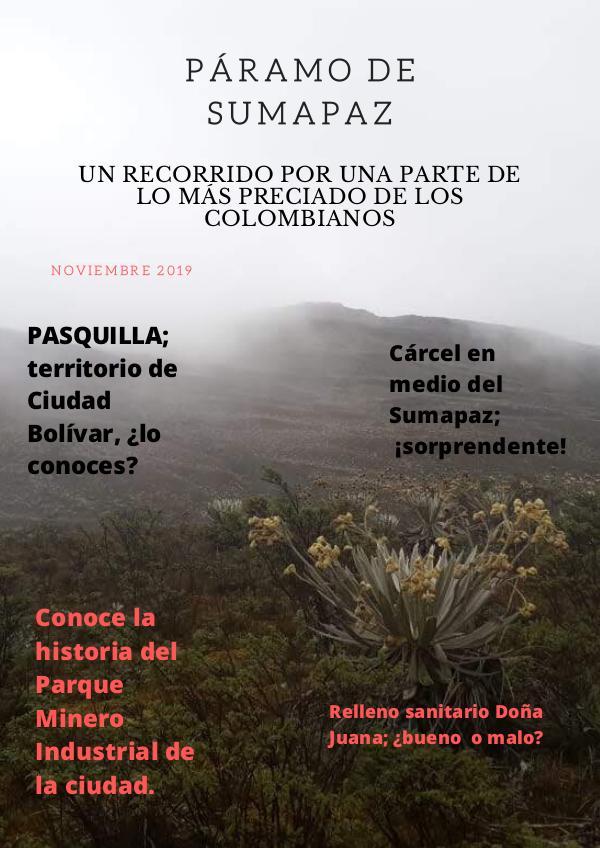 Sumapaz PÁRAMO de Sumapaz