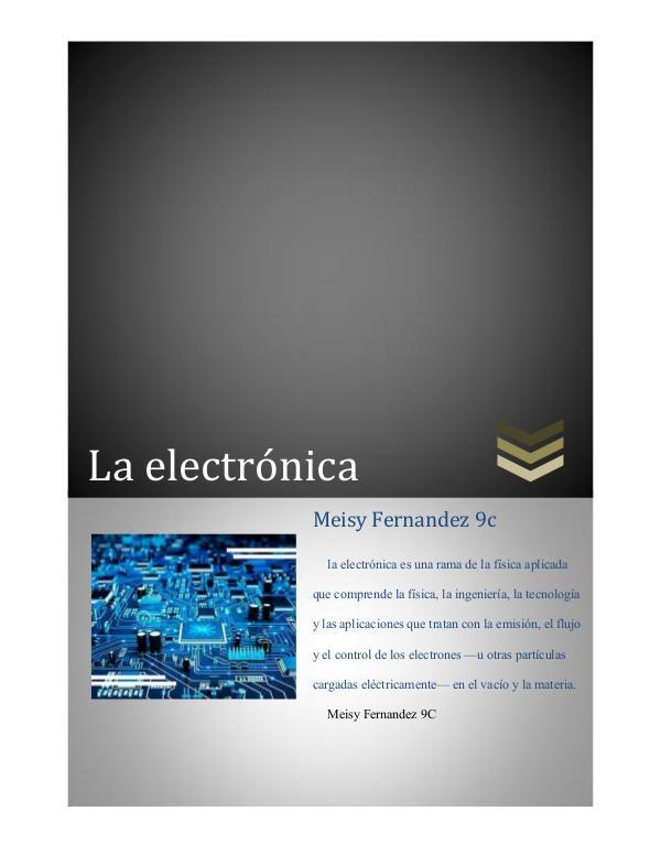La electronica Revista de Meisy