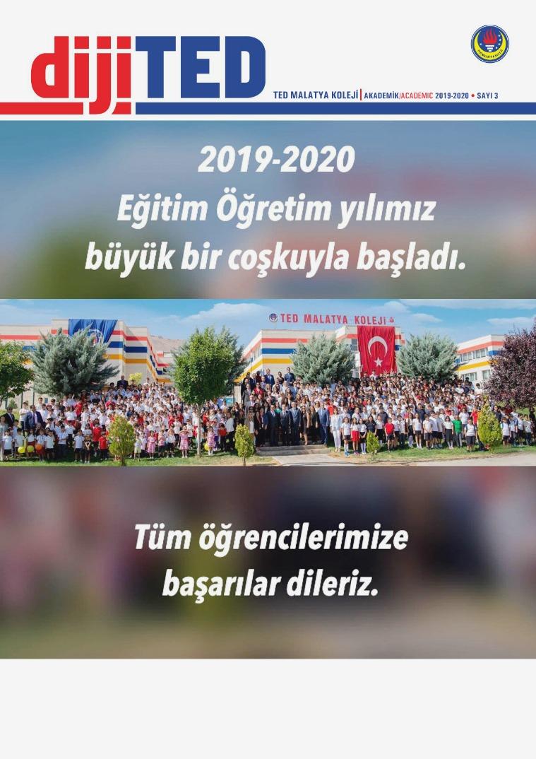 2019-2020 Eğitim Öğretim Dönemi 1 DijiTED Sayımız 2019-2020 DİJİTED1.SAYI. (1)
