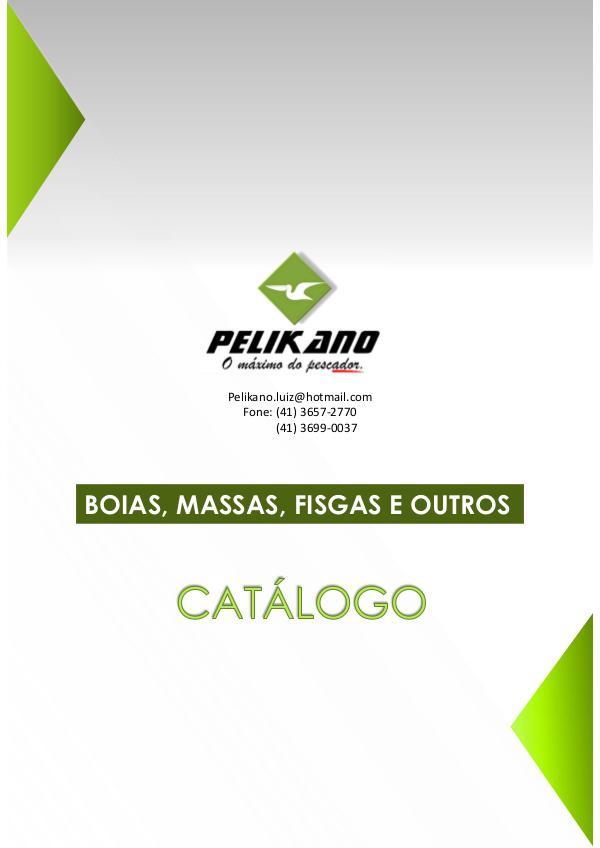 Catálogo de produtos Catálogo