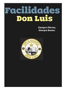 Catalogo Facilidades Don Luis